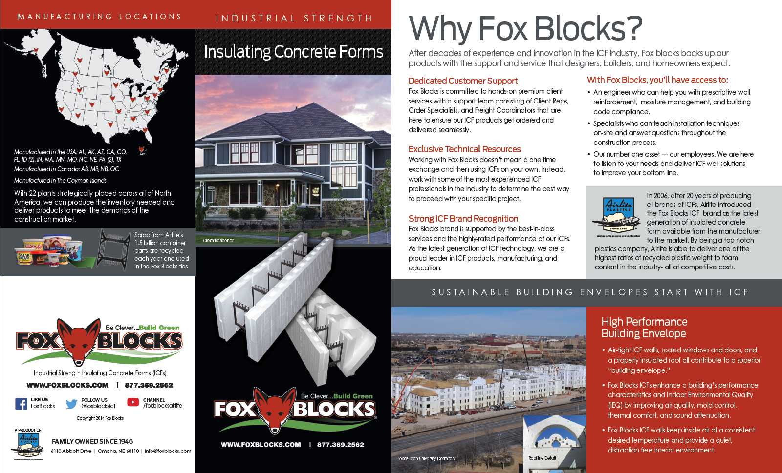Insulated Concrete Forms (ICF) and why we use them